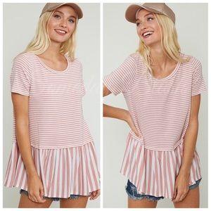 Tops - Peplum Shirt